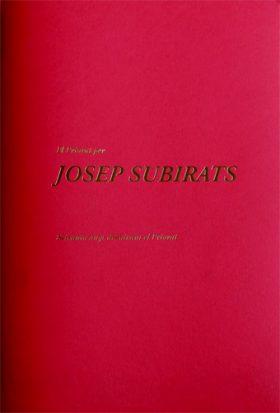 B. Rosés (2019) El Priorat per Josep Subirats. Seixanta anys dibuixant el Priorat.